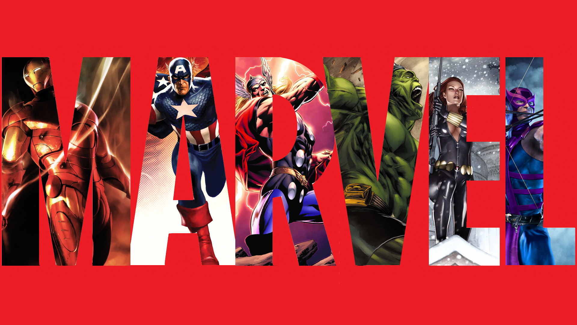 Les pictogrammes des super hros de Marvel et DC Comics 1920x1080
