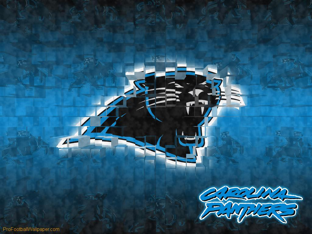 Download Carolina Panthers wallpaper Carolina Panthers 3D 1024x768