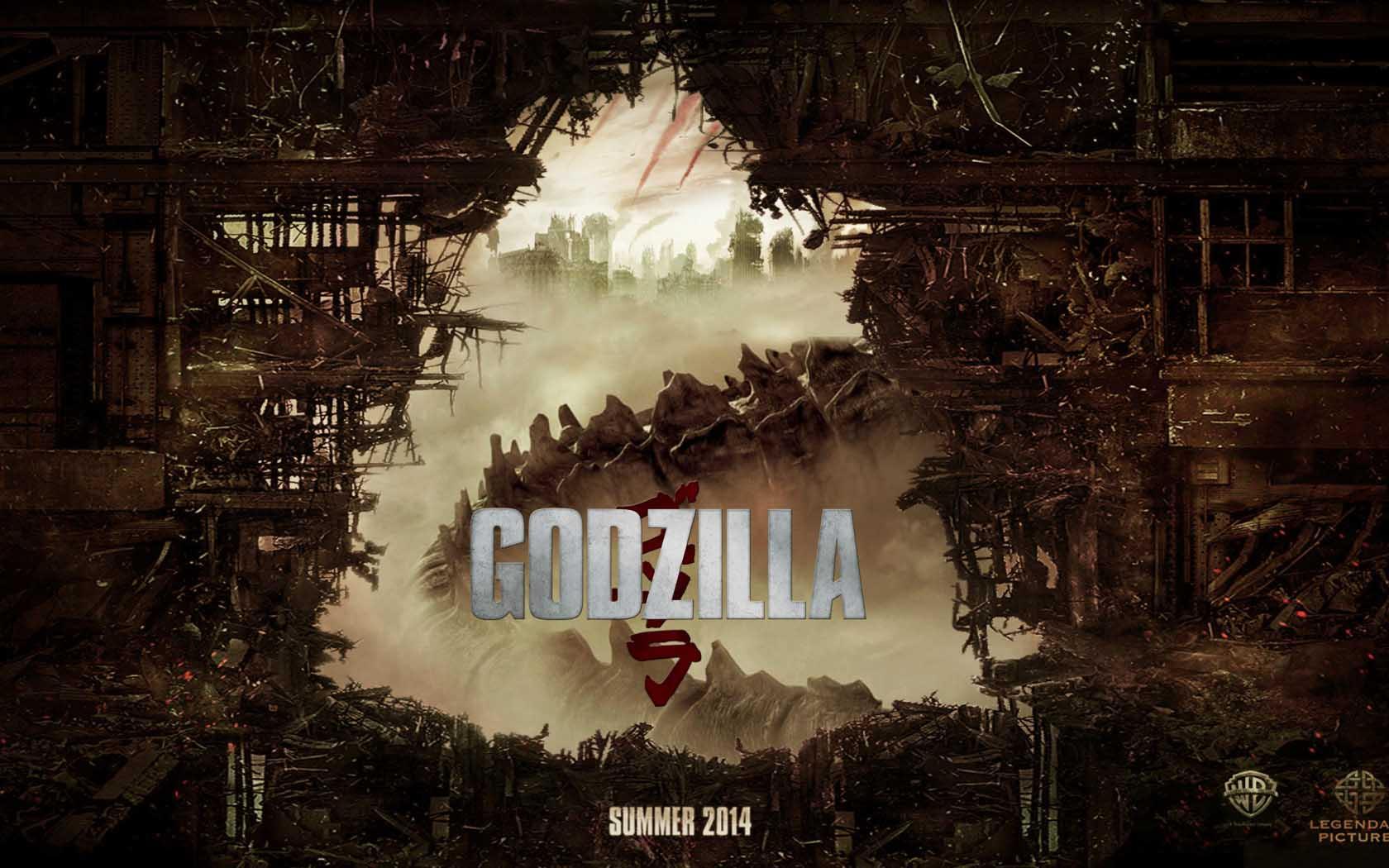 Godzilla monstruosamente con ms pena que gloria 1680x1050