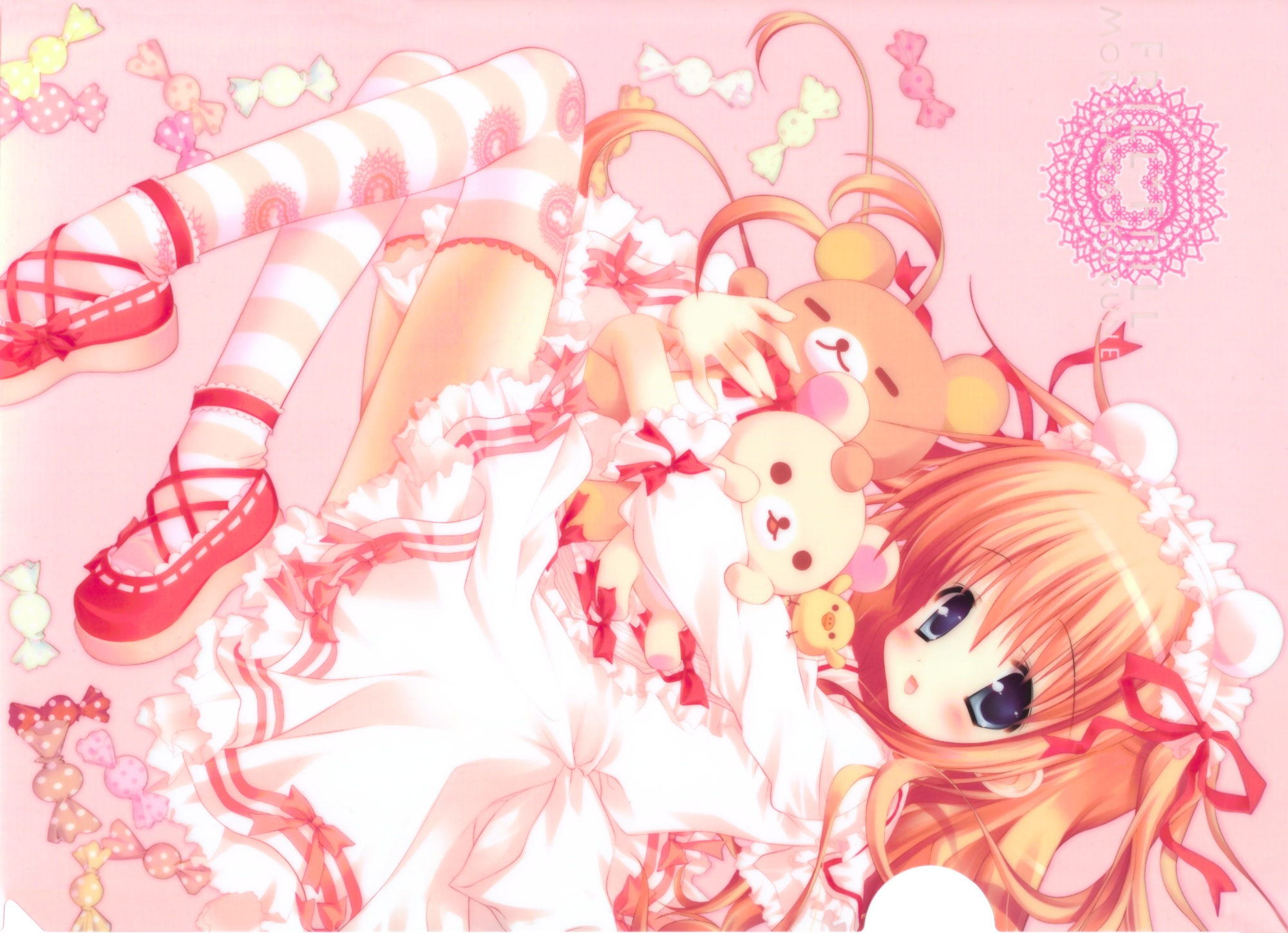 kawaii anime wallpaper wallpapersafari