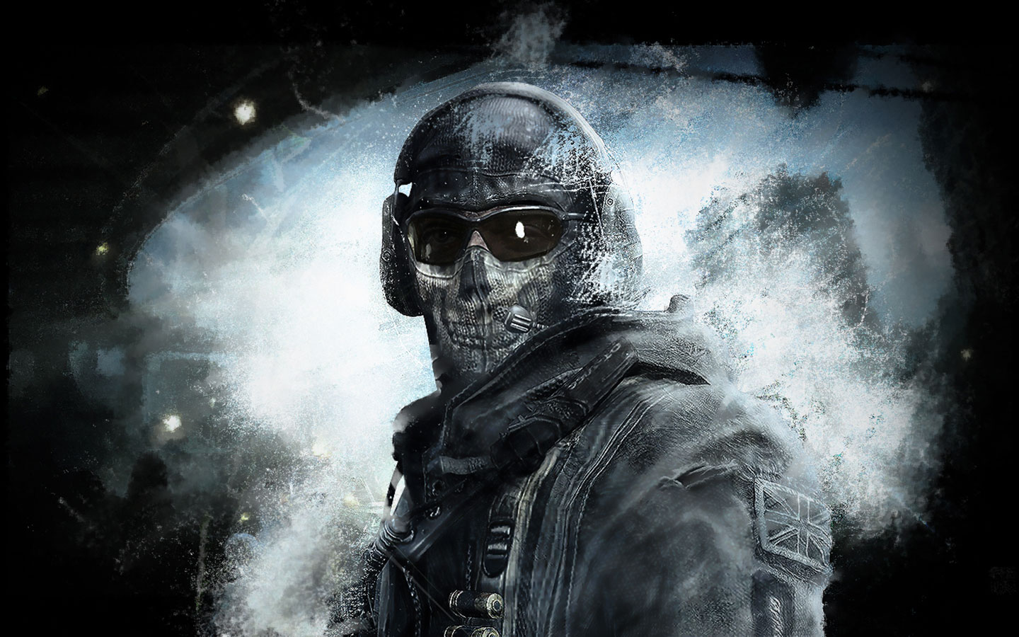 Games Wallpapers - Call Of Duty - Modern Warfare 2 Ghost wallpaper