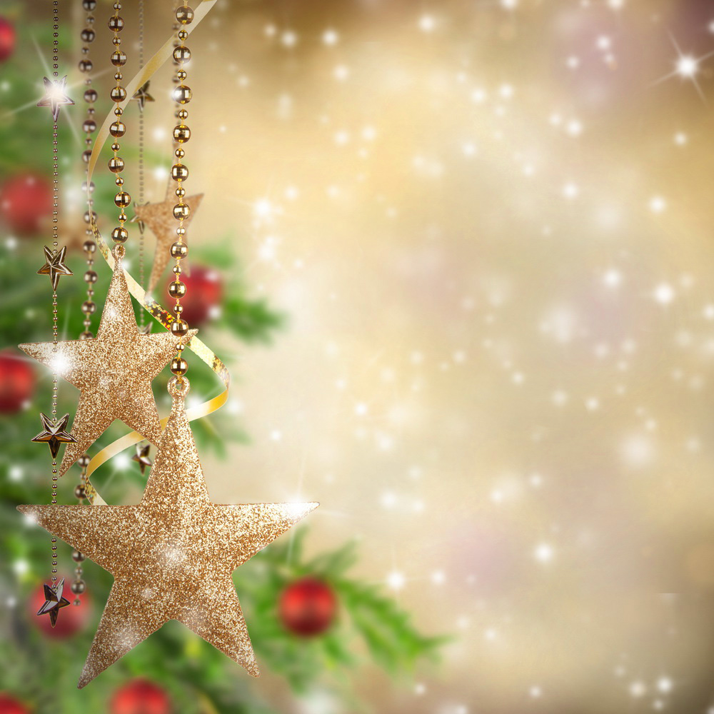 Christmas Background with Christmas Stars Gallery Yopriceville 1000x1000