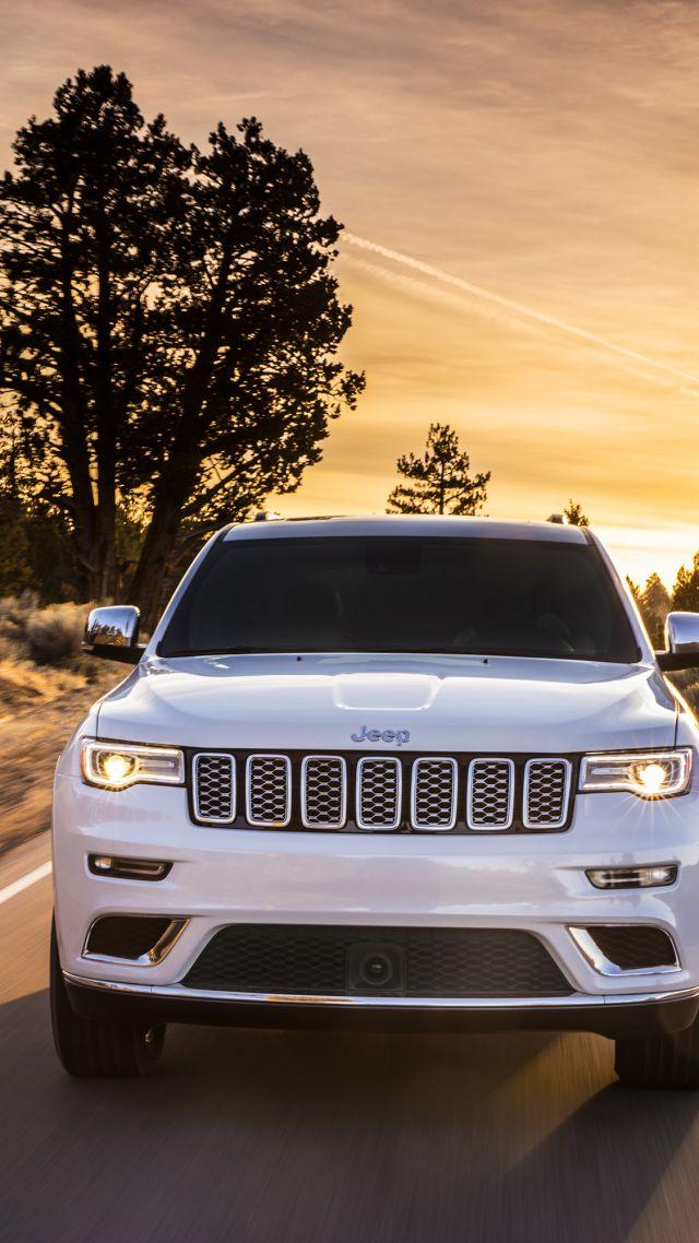 Wallpaper Jeep Grand Cherokee Summit NYIAS 2016 suv Cars 640x1138
