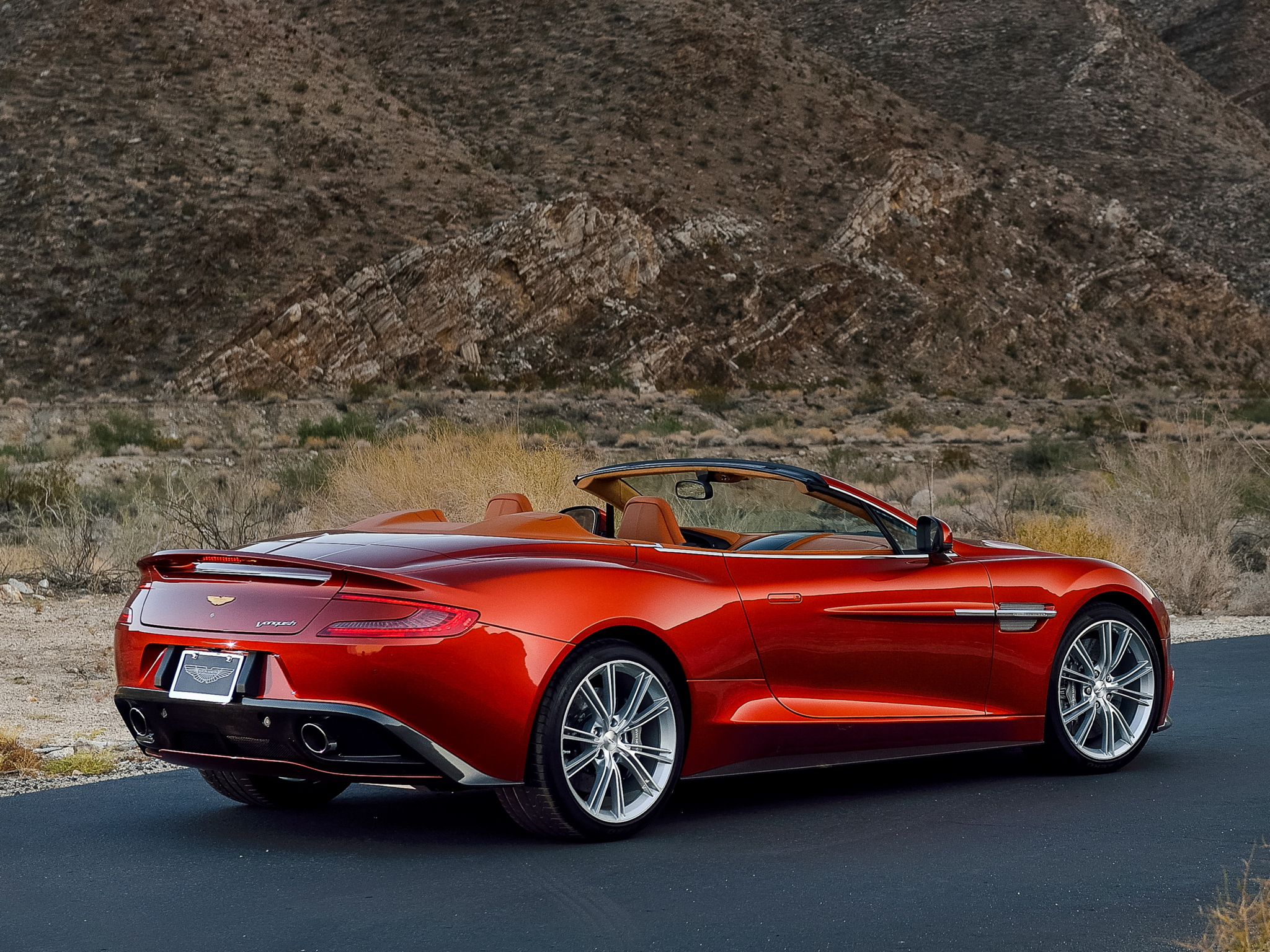 2014 Aston Martin Vanquish Volante US spec supercar fi wallpaper 2048x1536