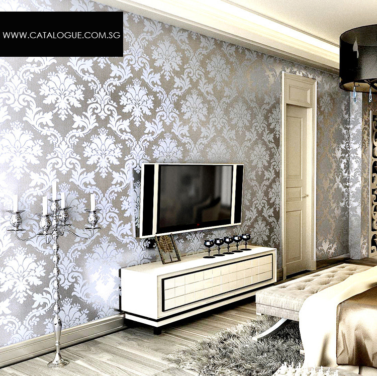 Metallic Wallpaper Designs 750x748