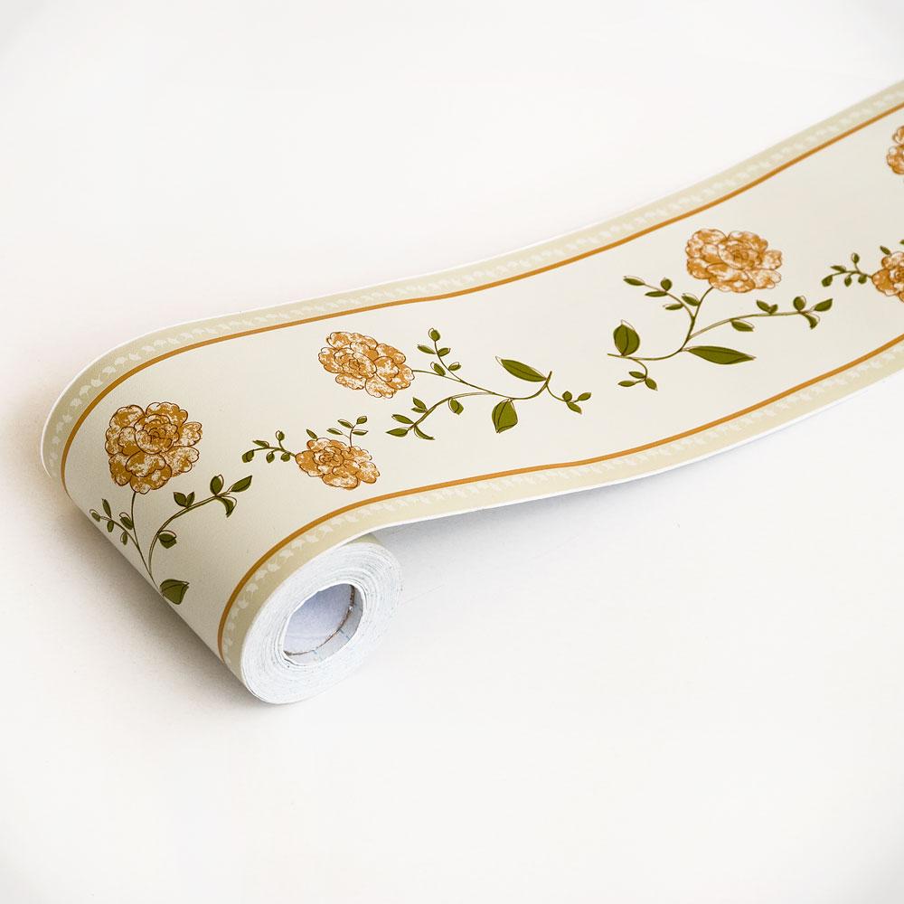 Laurustinus   Self Adhesive Wallpaper Borders Home Decor Roll 1000x1000