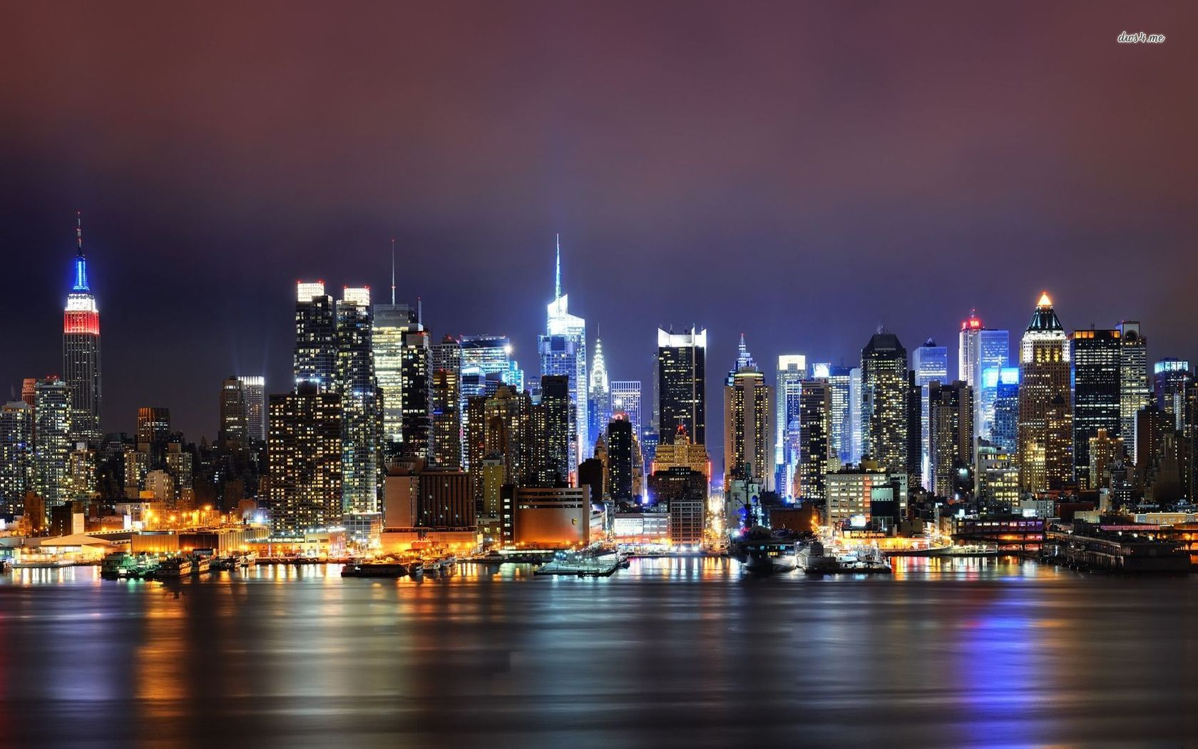 new york at night wallpaper 1680x1050