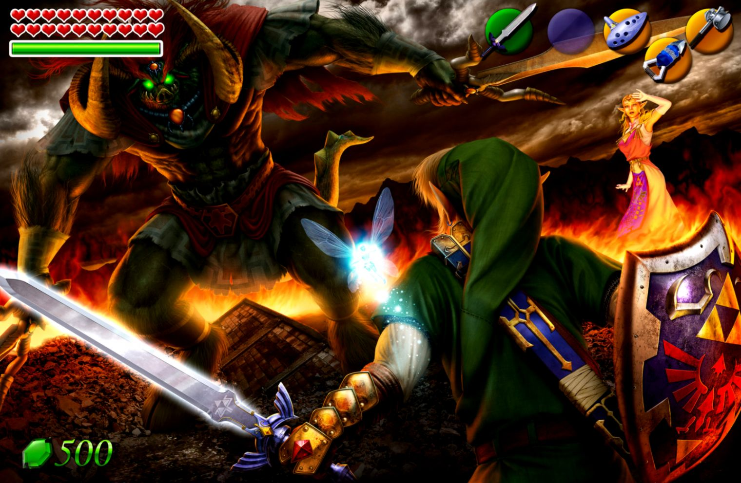 Free Download Legend Of Zelda Ocarina Of Time Desktop Background