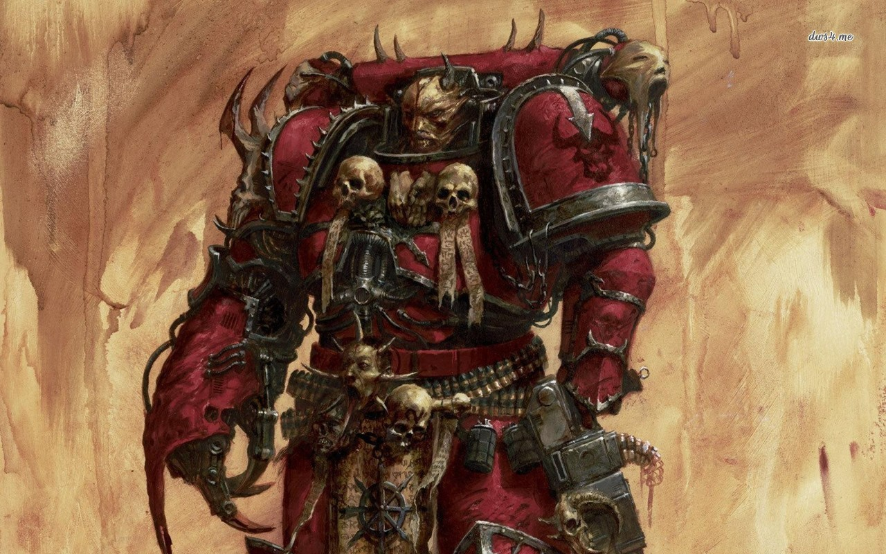 warhammer 40k chaos wallpaper wallpapersafari