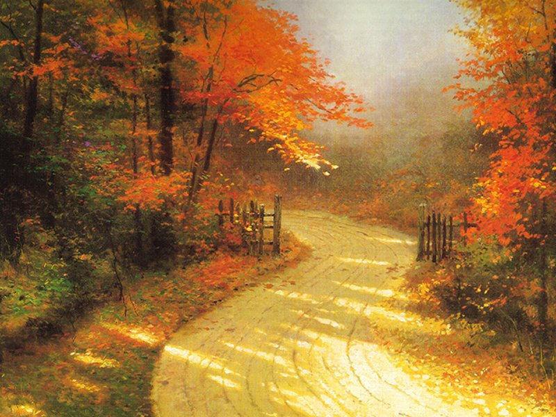 Autumn Desktop Wallpapers, Autumn Leaf Thanksgiving Wallpaper
