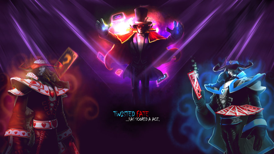 Twisted Fate Wallpaper by snicks83 900x506