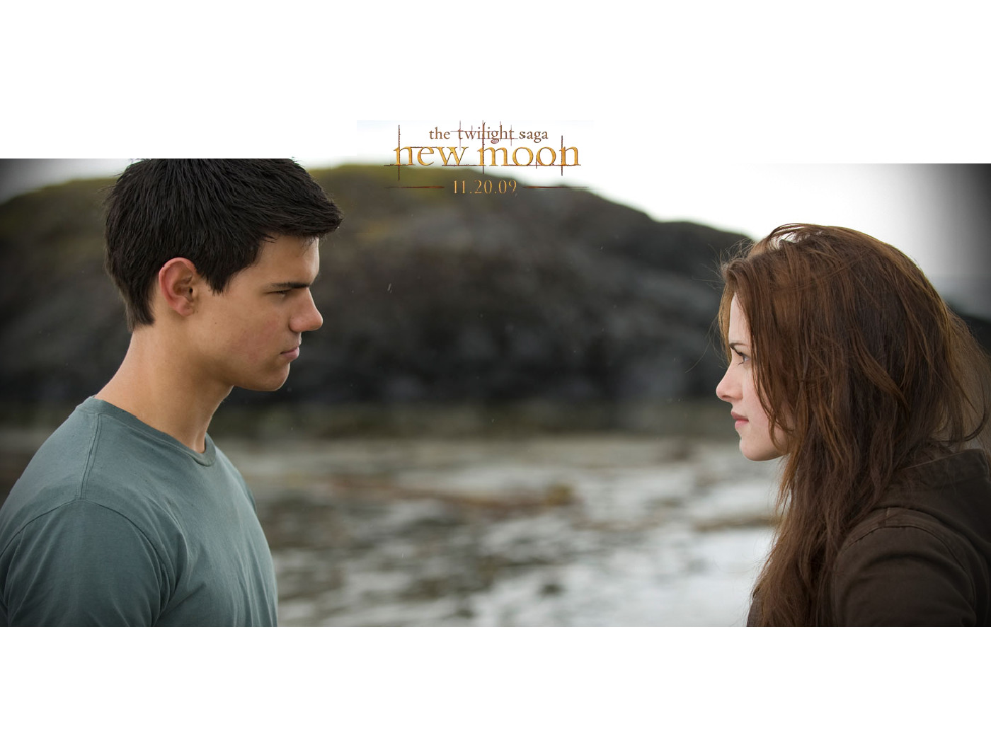 Twilight New Moon Bella Swan And Jacob Blacktaylor   Twilight New 1400x1050