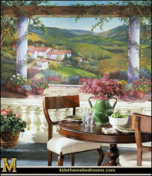 decor   rustic decor   Venice Italy decorating ideas   Italian Cafe 504x585