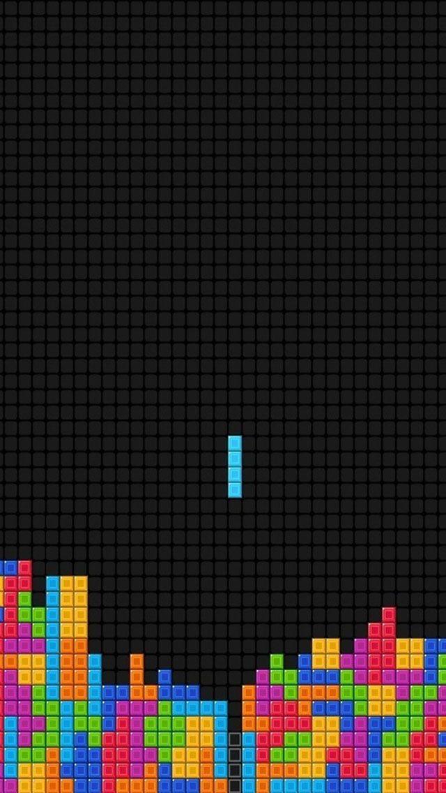 Tetris iPhone 5s wallpaper Wallpapers Fondos de pantalla 640x1136