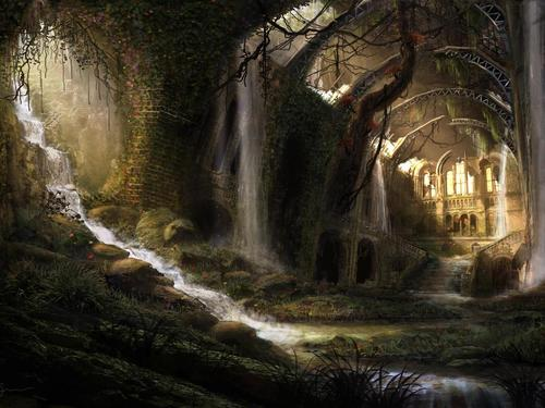 The Hidden Castle Wallpaper   Download Screensavers 500x375