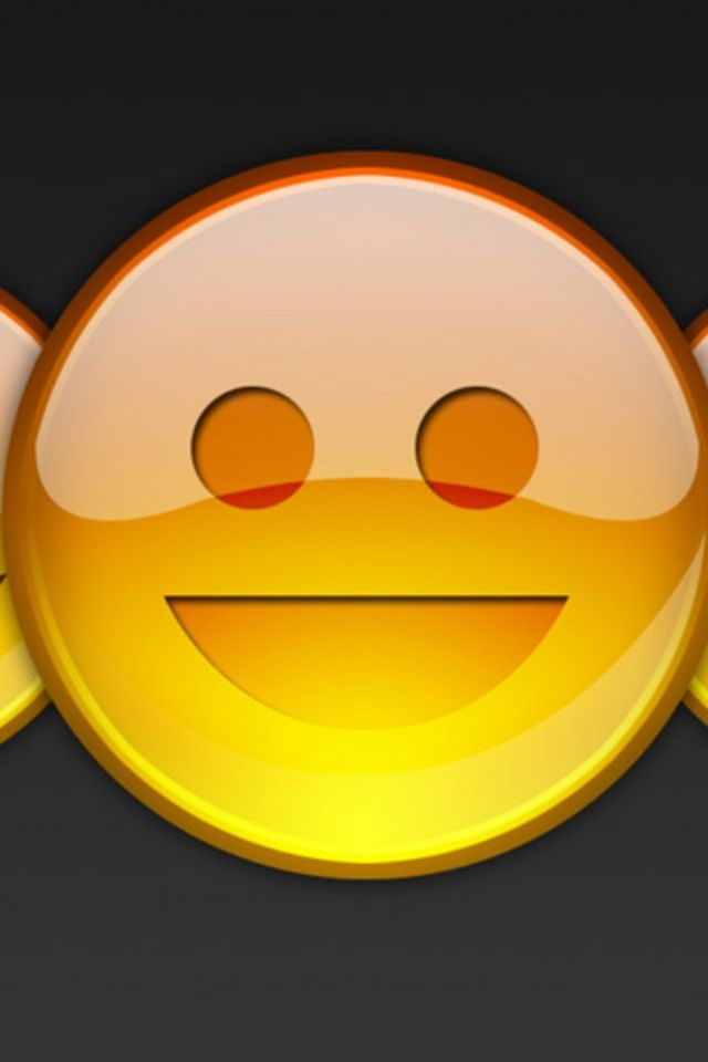 Smiley Face iPhone HD Wallpaper iPhone HD Wallpaper download iPhone 640x960
