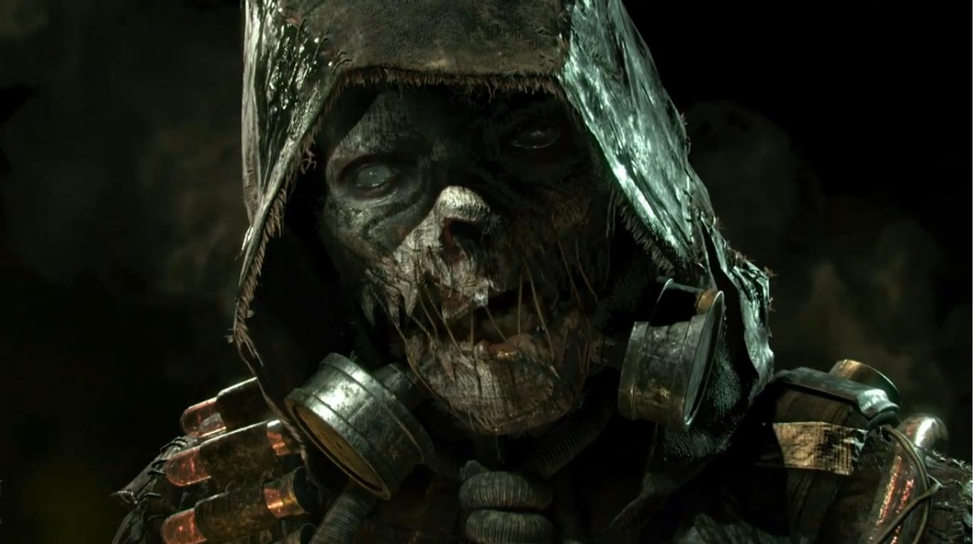 Arkham Knight Scarecrow by CrazyCrocuta 1368x764