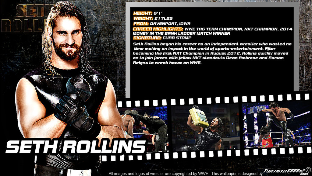 WWE Seth Rollins Wallpaper