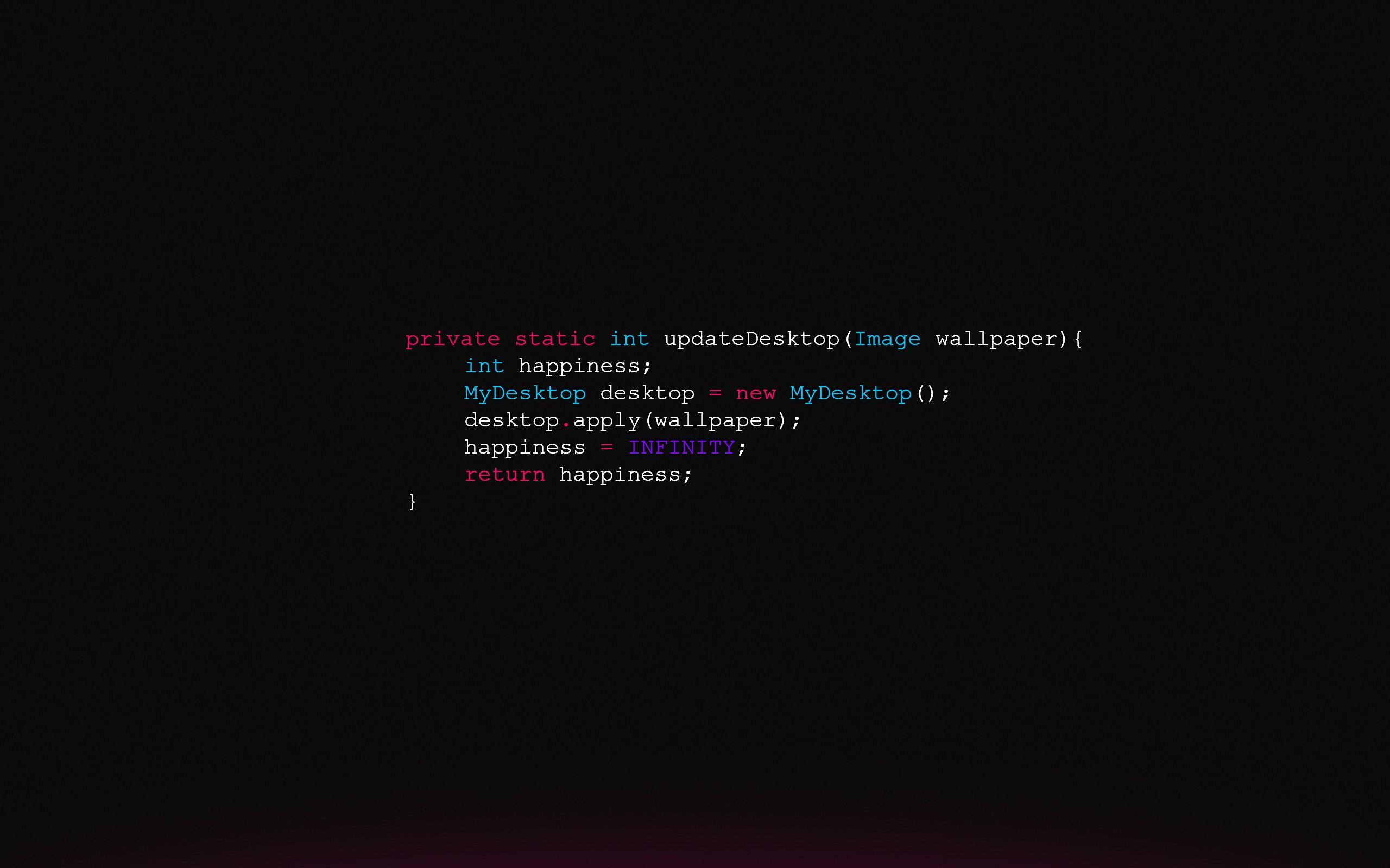 syntax highlighting Java Code JavaScript HD Wallpapers 2560x1600