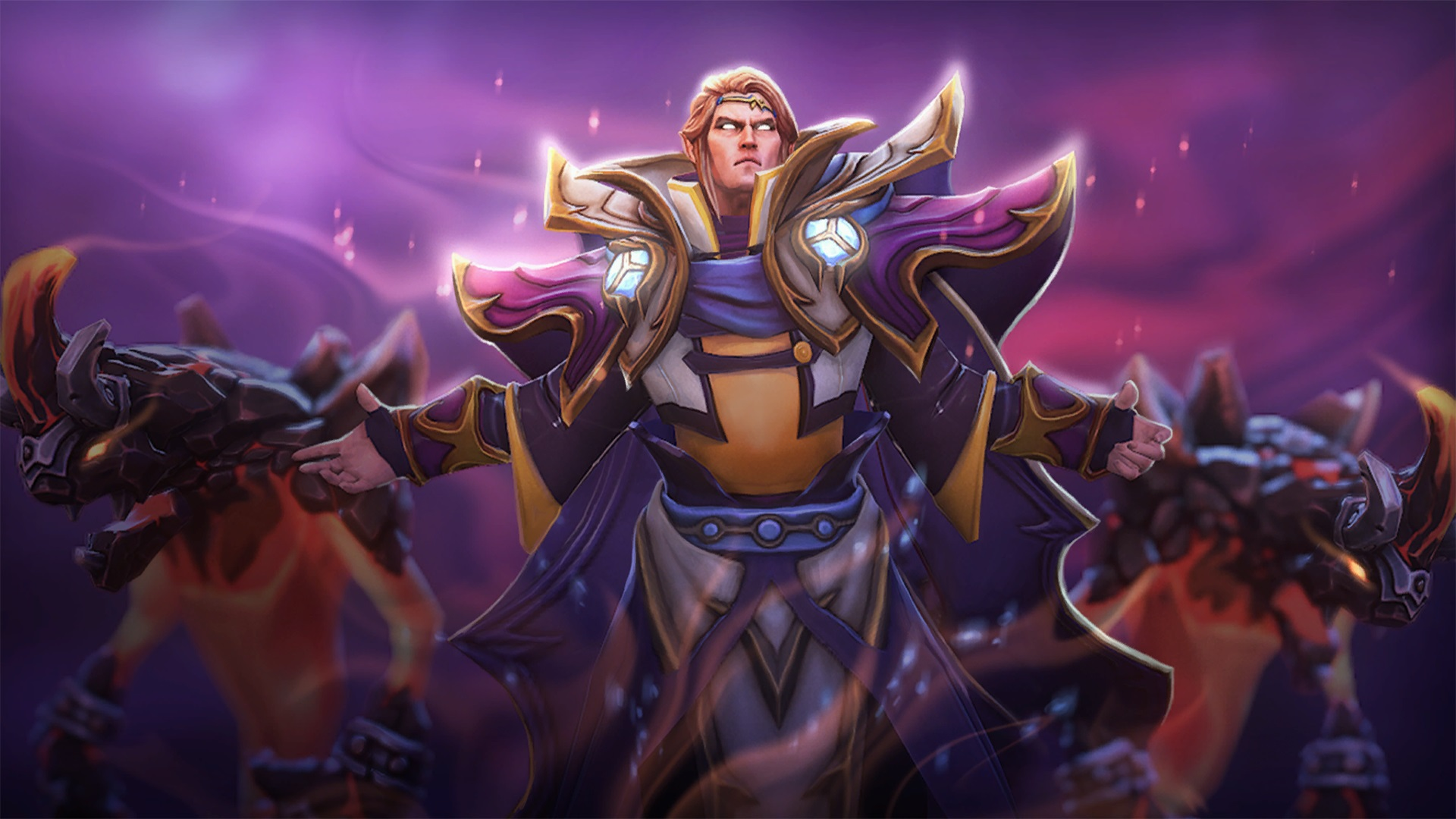 Invoker Cadenza Magic Master Dota 2 desktop computers Wallpapers 1920x1080