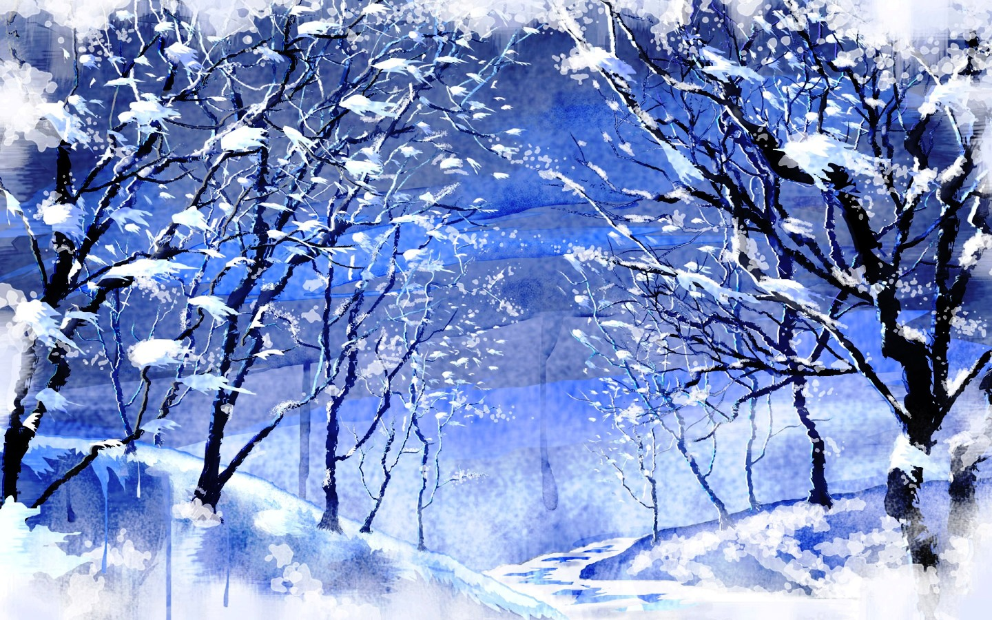 Winter Blizzard wallpaper   ForWallpapercom 1440x900