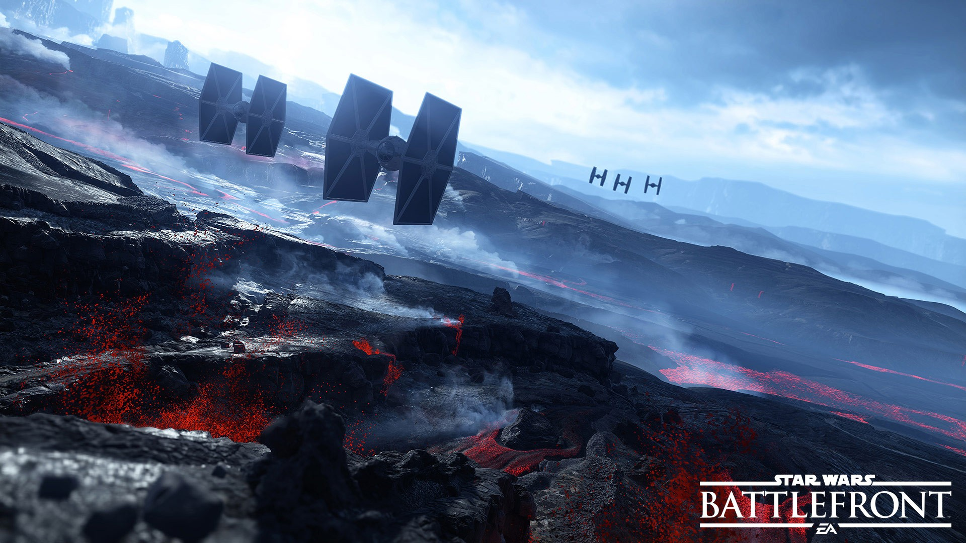 Star Wars Battlefront Star Wars EA Games Dice TIE Fighter 1920x1080