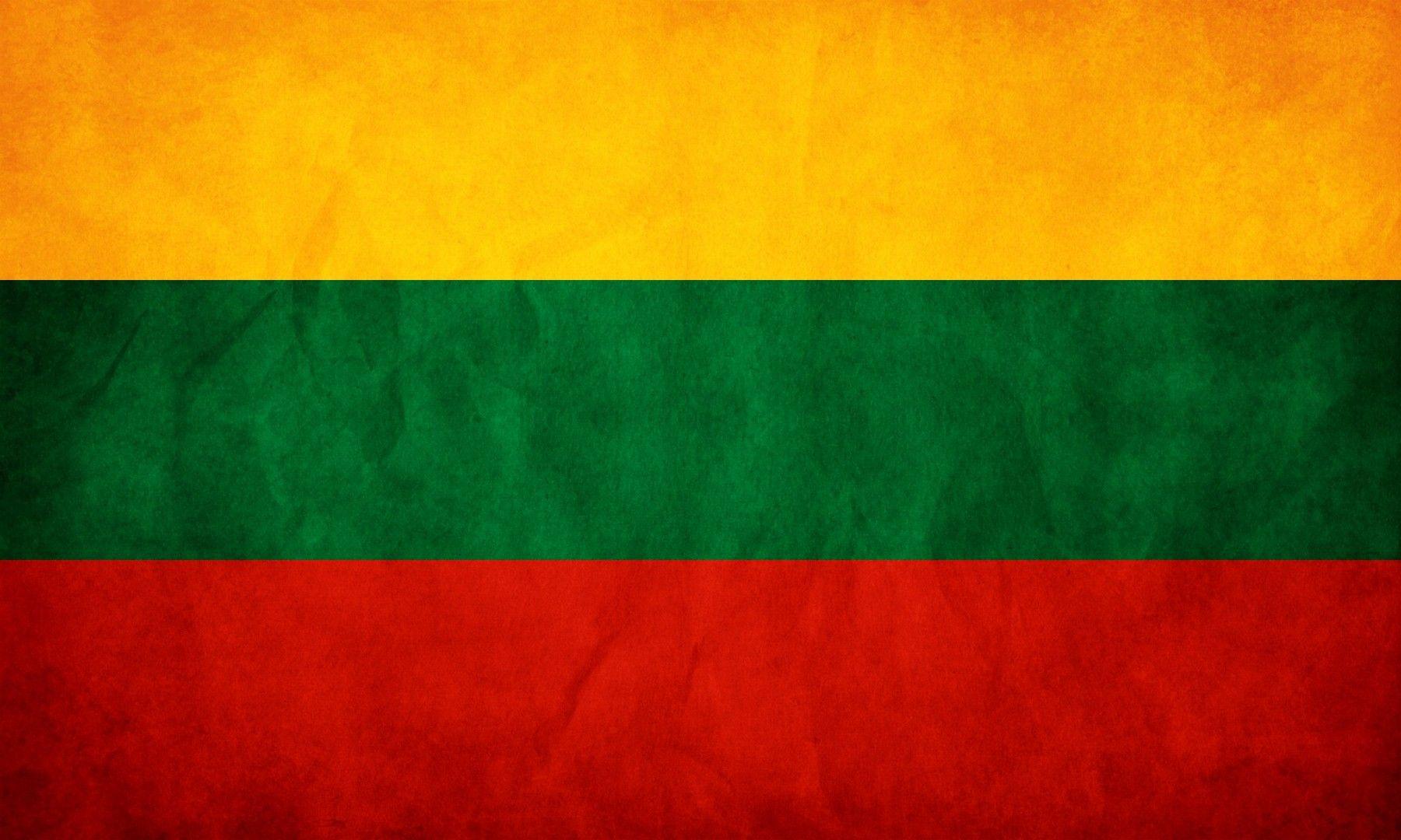 Flag of Lithuania wallpaper Education Lithuania flag 1800x1080