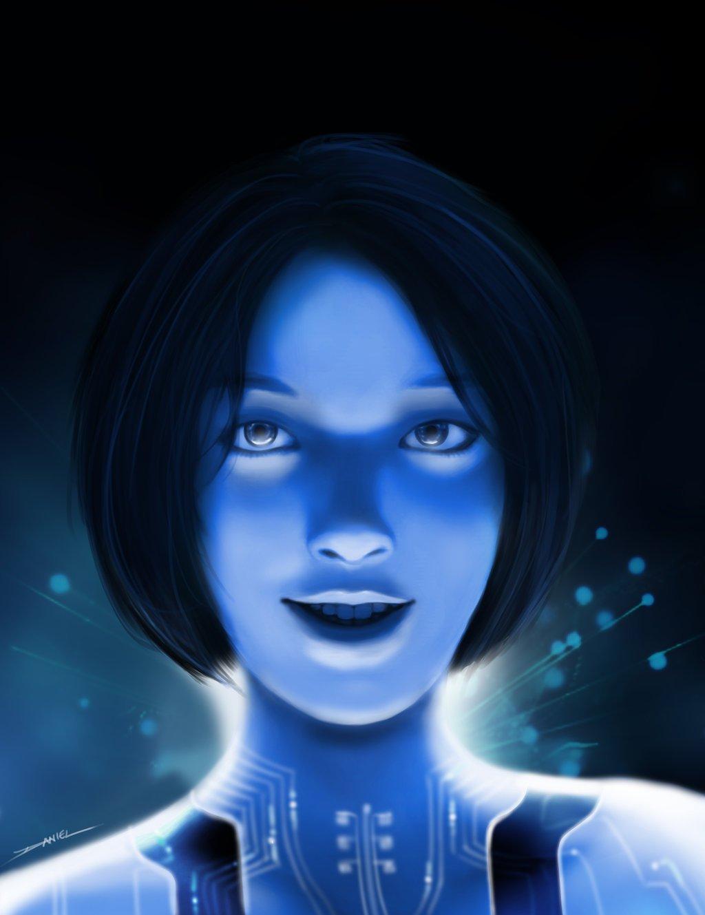 Cortana by HikaruIshiju 1024x1329