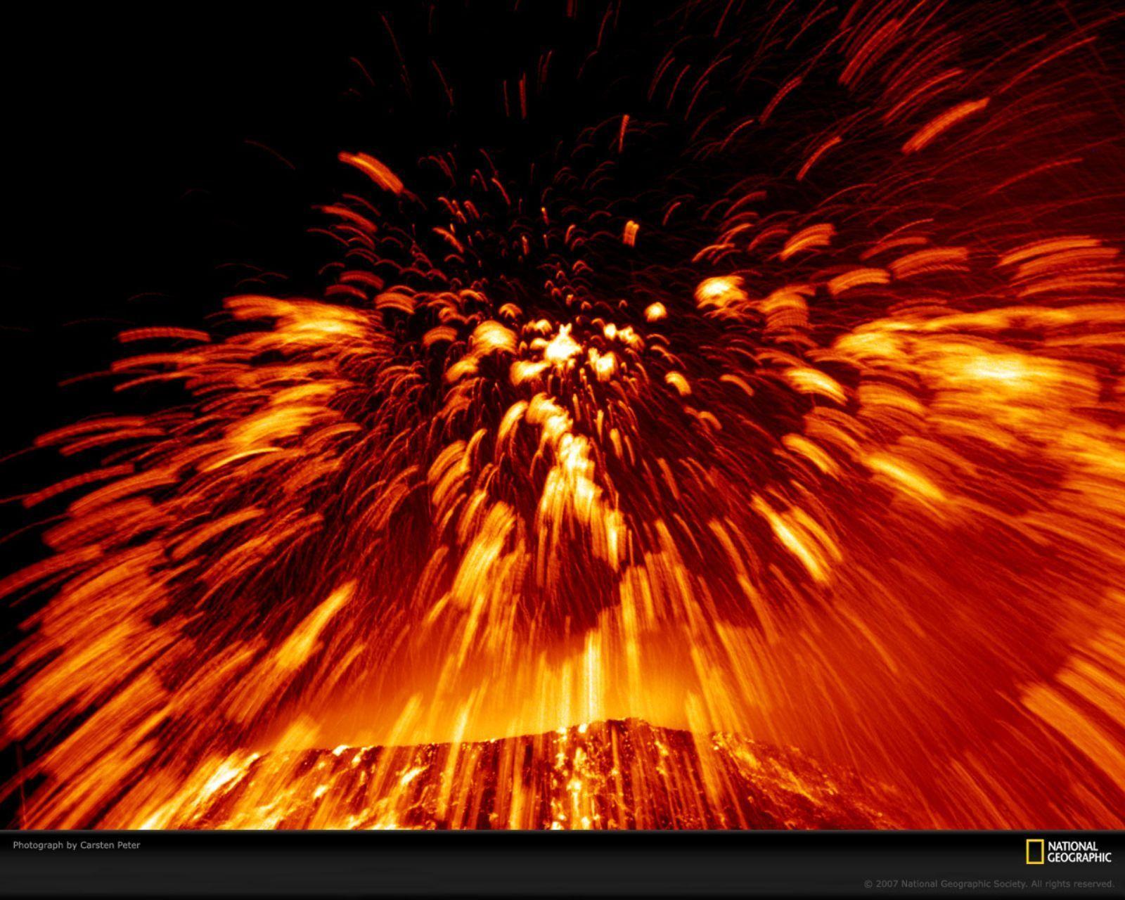 Active Volcano   Volcanoes Wallpaper 8433830 1600x1280