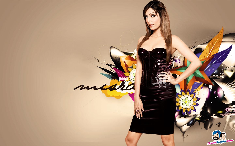 Pooja Misra Latest Hot Desktop Wallpapers Santa Banta 1440x900