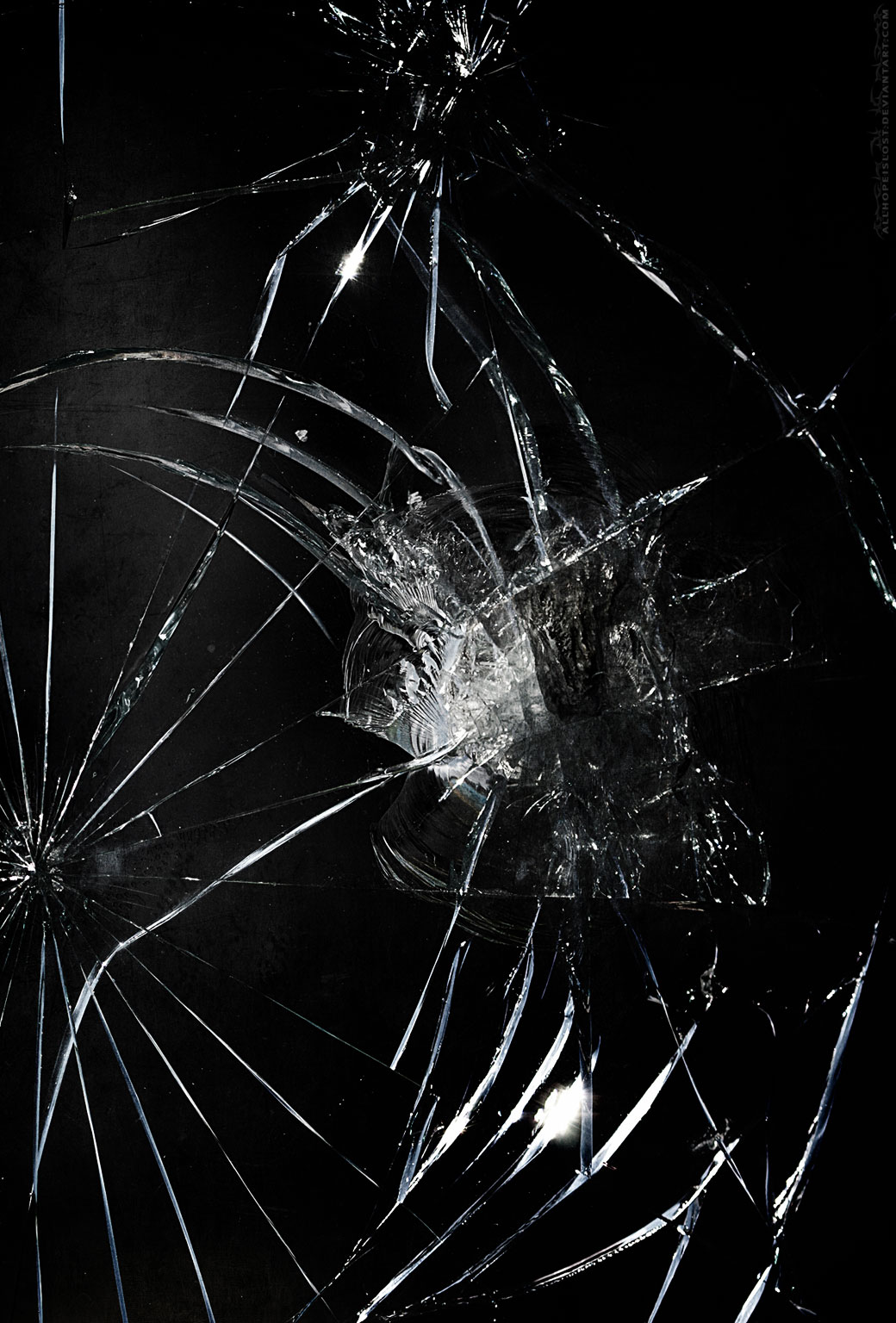 HD Broken Screen Wallpaper - WallpaperSafari