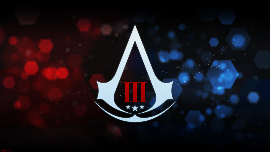 Assassins Creed III Assassin logo Animus style by ArteF4ct on 900x506