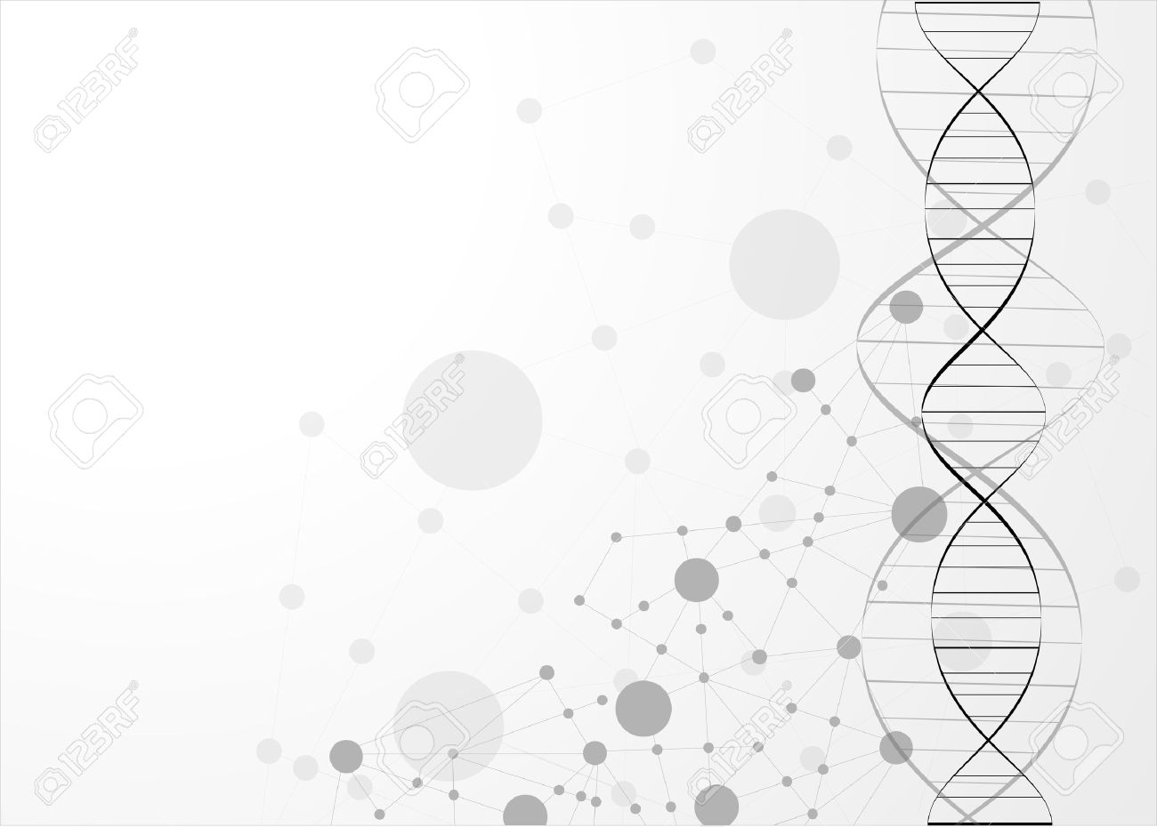 Eps10 Dna Molecule Abstract Background Royalty Cliparts 1300x930