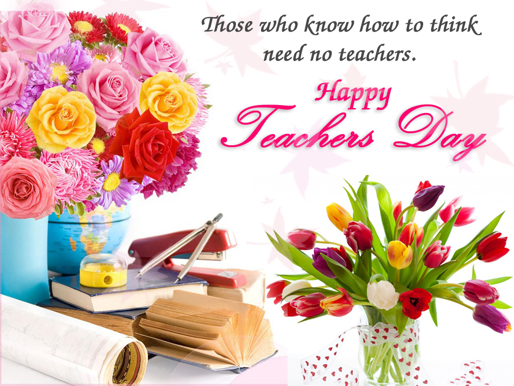 Happy Teachers Day Wallpapers Images Pictures Greetings for the 1024x768