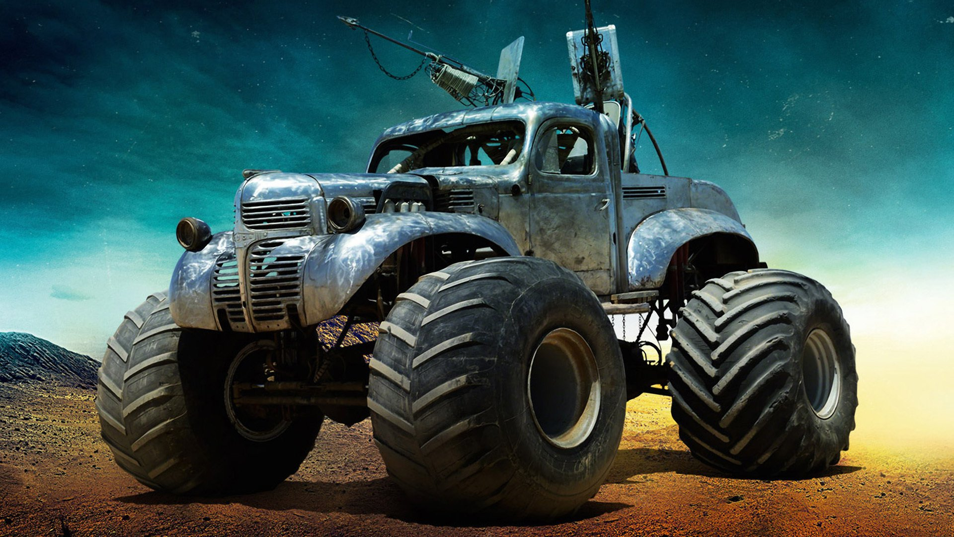 Mad Max Fury Road Movie Car Jeep HD Wallpaper   Stylish HD Wallpapers 1920x1080