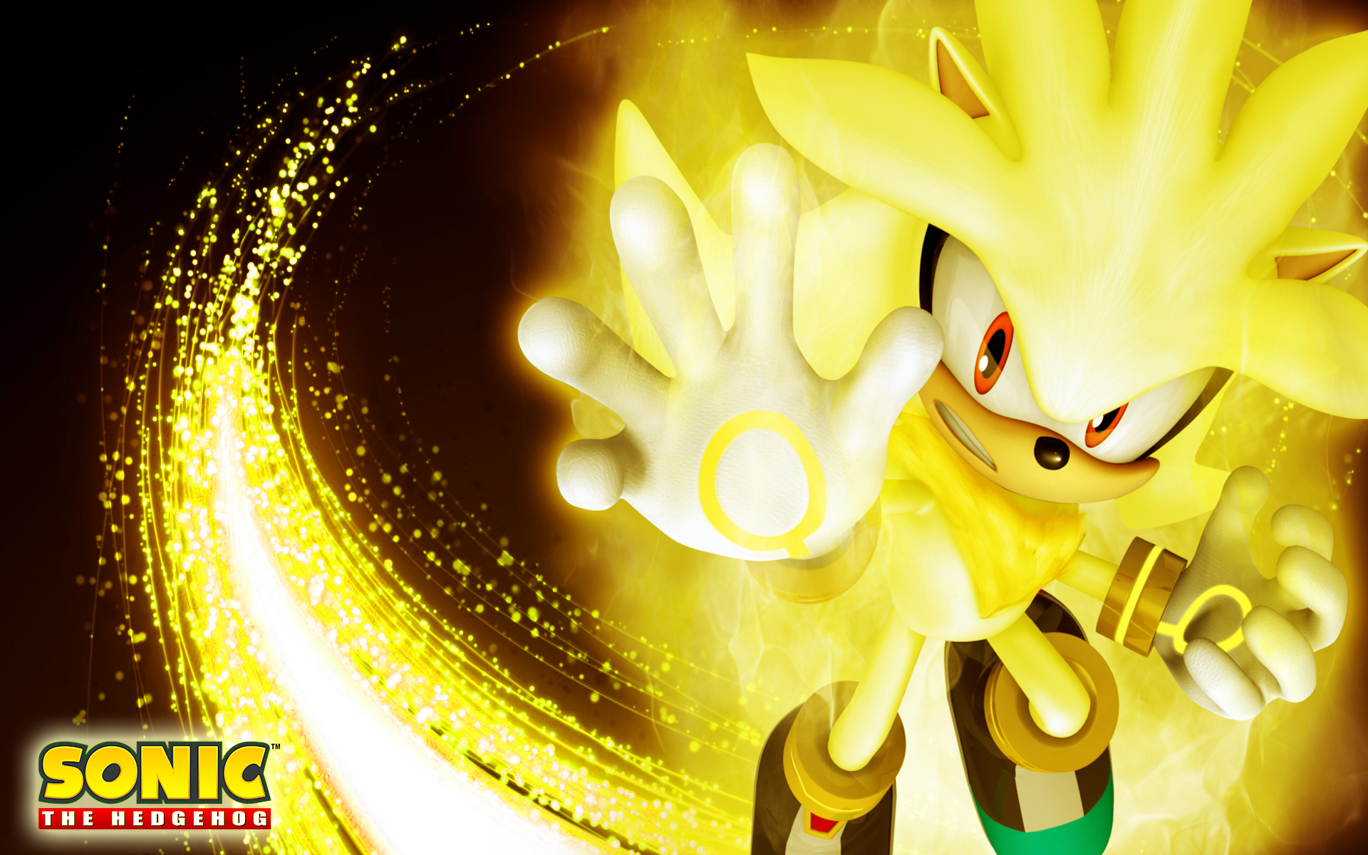 *Super Sonic, Shadow, and Silver Wallpaper* by 9029561 on ... |Super Sonic And Super Shadow And Super Silver Wallpaper
