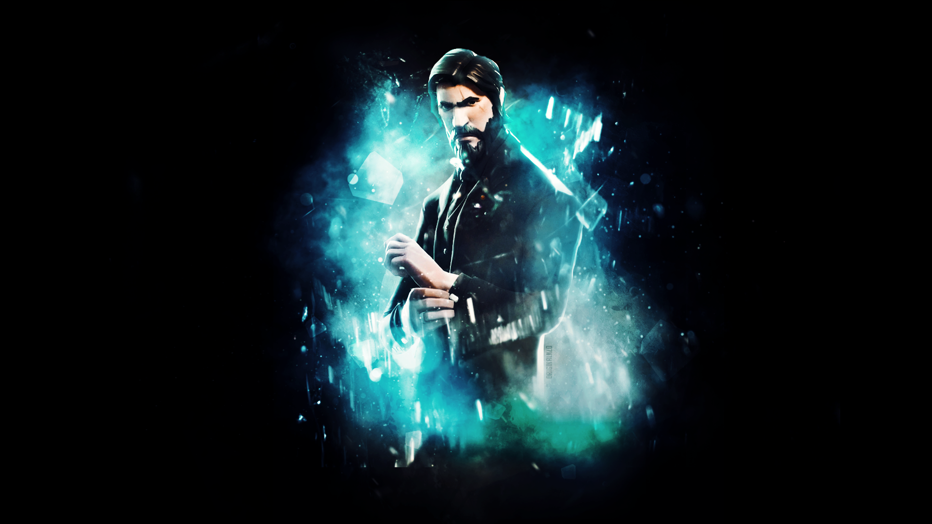 The Reaper John Wick Wallpaper EDIT FortNiteBR 1920x1080