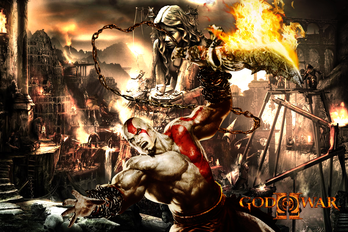 HD Wallpapers HD wallpapers God of war 3 1200x800