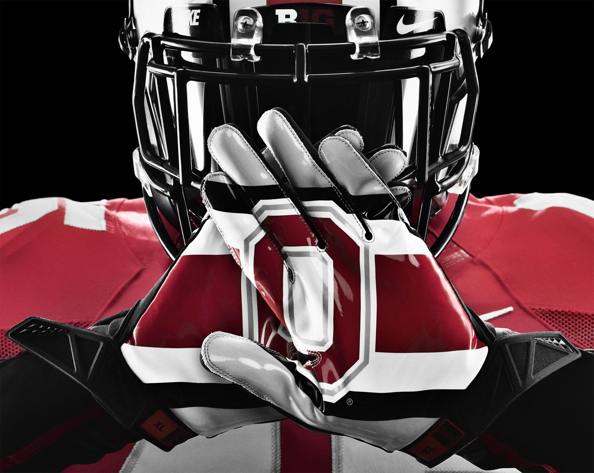 OHIO STATE BUCKEYES college football poster wallpaper 1900x1514