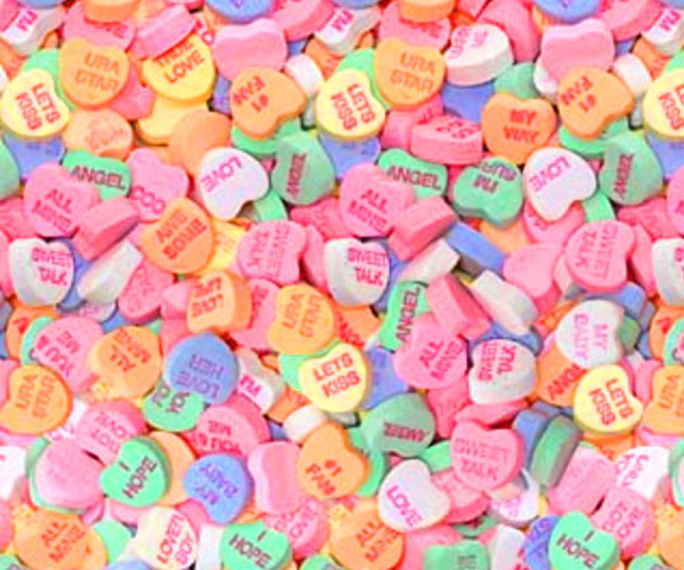 Candy Heart Cake