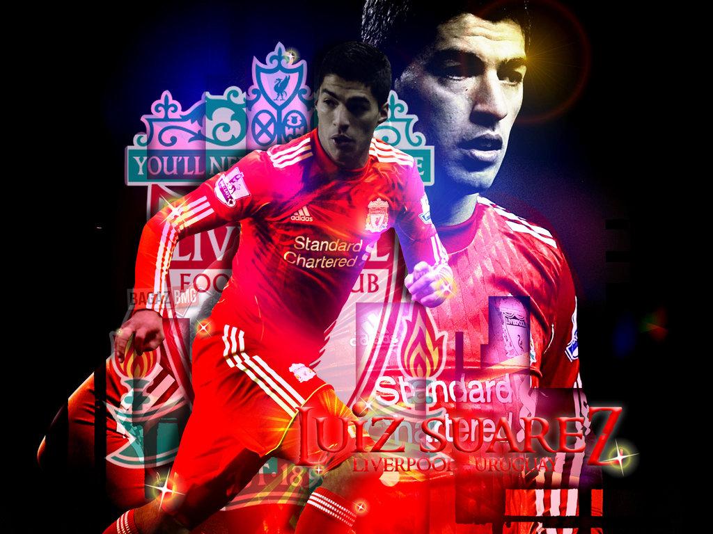 Download Luis Suarez   Liverpool Wallpapers Download Logo Wallpaper 1024x768