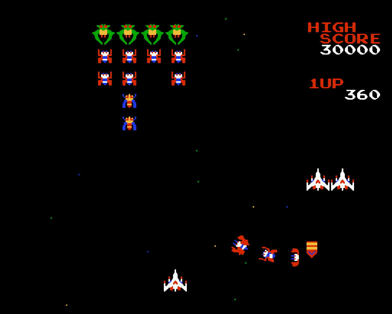 Galaga HD Wallpapers and Background Images   stmednet 1280x1024