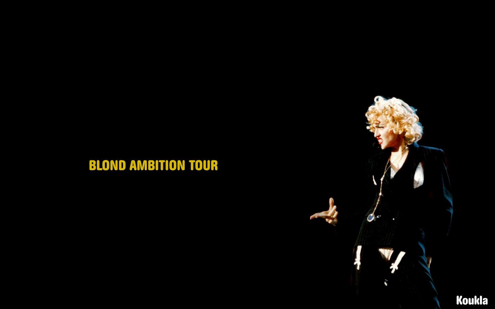 Blond Ambition Tour Wallpaper MADONNA FANMADE ARTWORKS 1600x1000