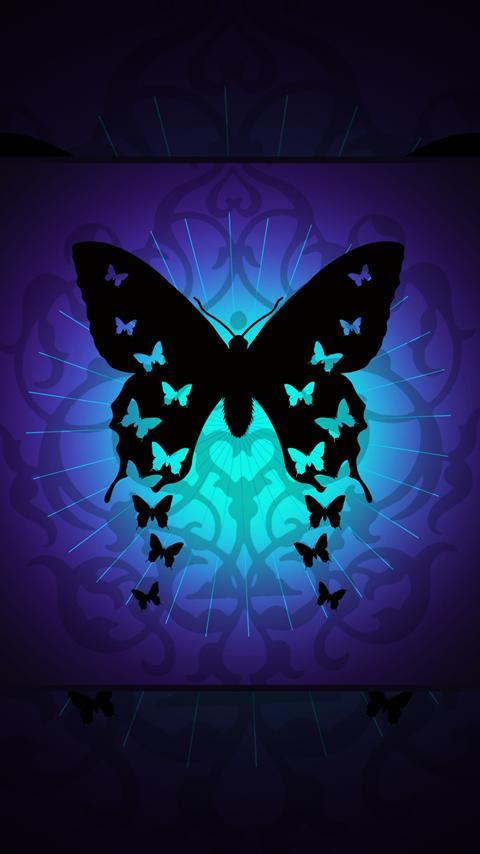 Butterflies Live Wallpaper   screenshot 480x854