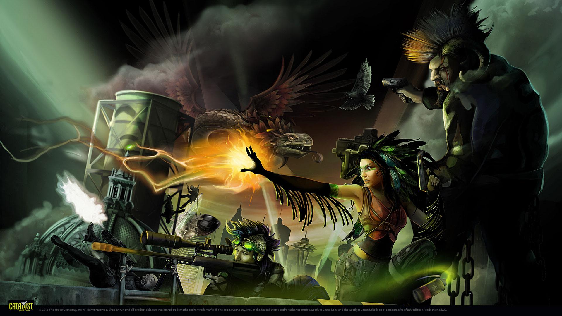 Shadowrun Returns Wallpaper Wallpapersafari