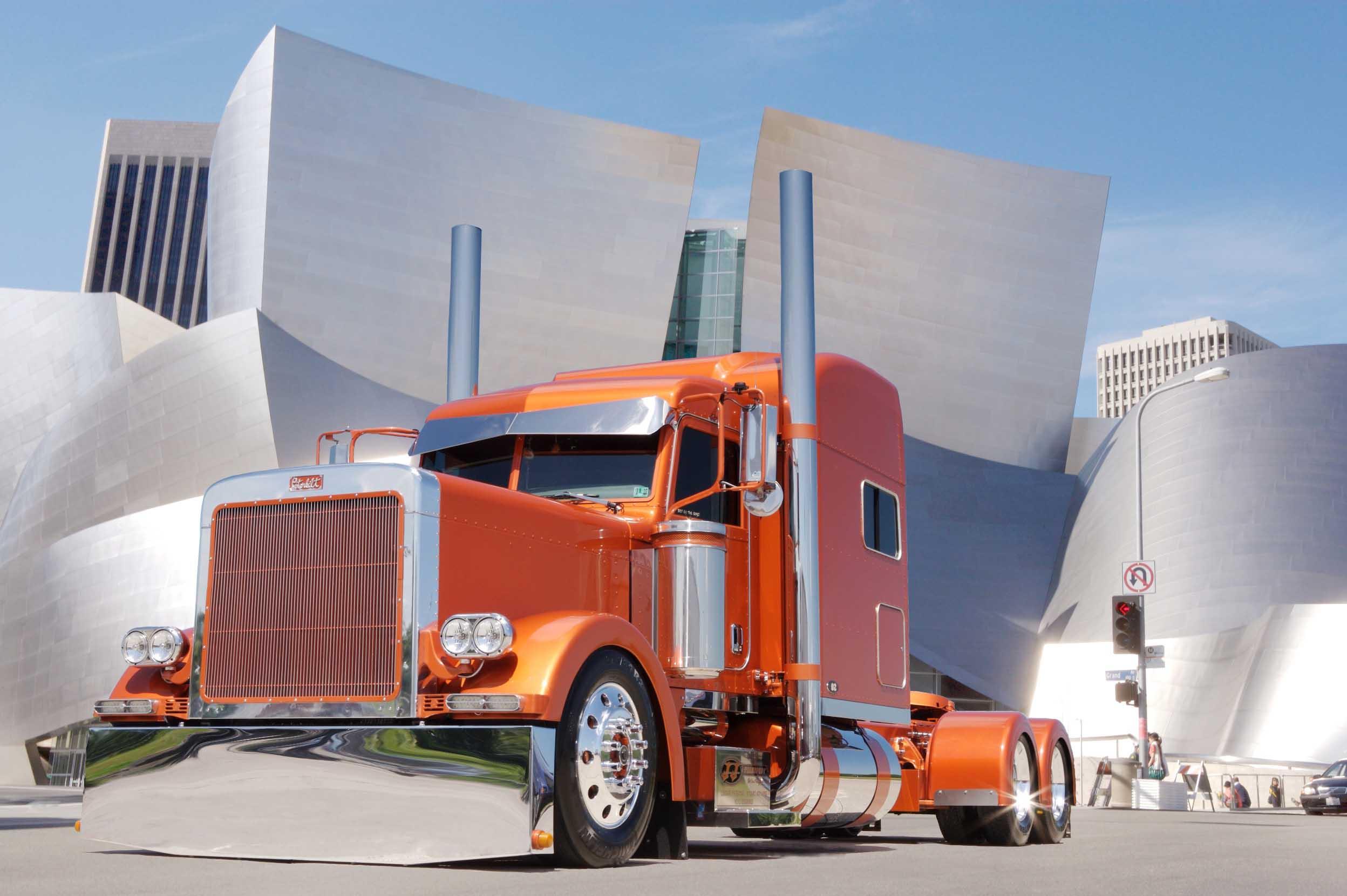 custom semi rigs tractor trucks wallpaper background 2496x1660