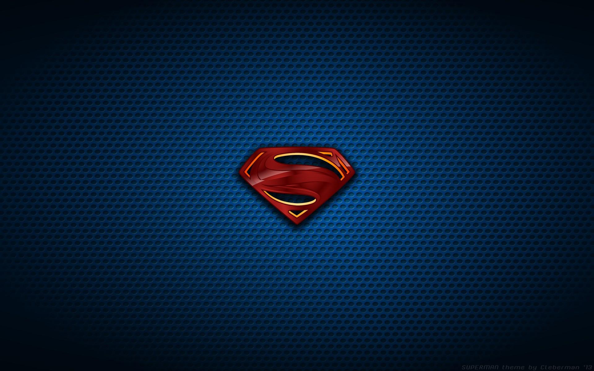 Superman Logo HD Wallpapers 1080p - WallpaperSafari