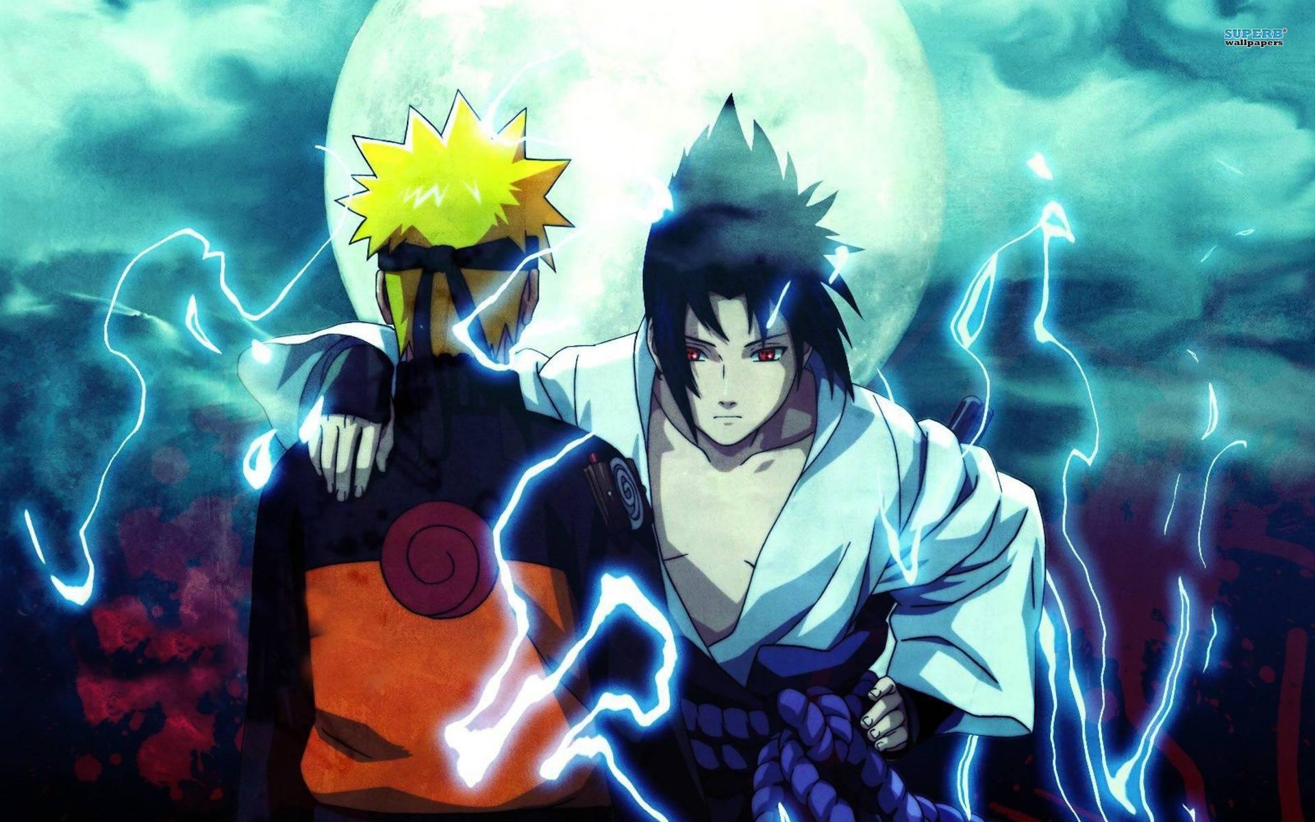 Naruto and Sasuke Naruto Uzumaki and Sasuke Uchiha 1920x1200