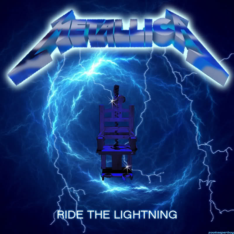 Metallica Ride The Lightning Wallpaper Ride the lightning 800x800