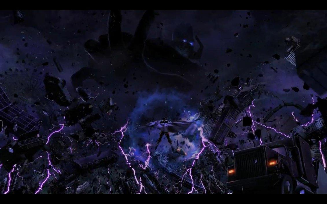Ultimate Marvel vs Capcom   Magneto vs Galactus by liova 1131x707